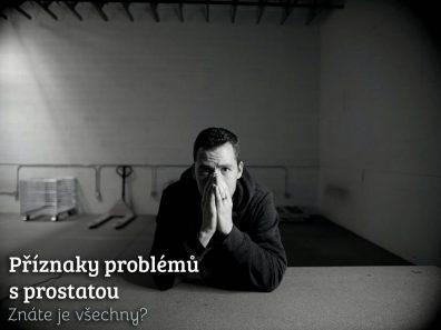 příznaky problémů s prostatou