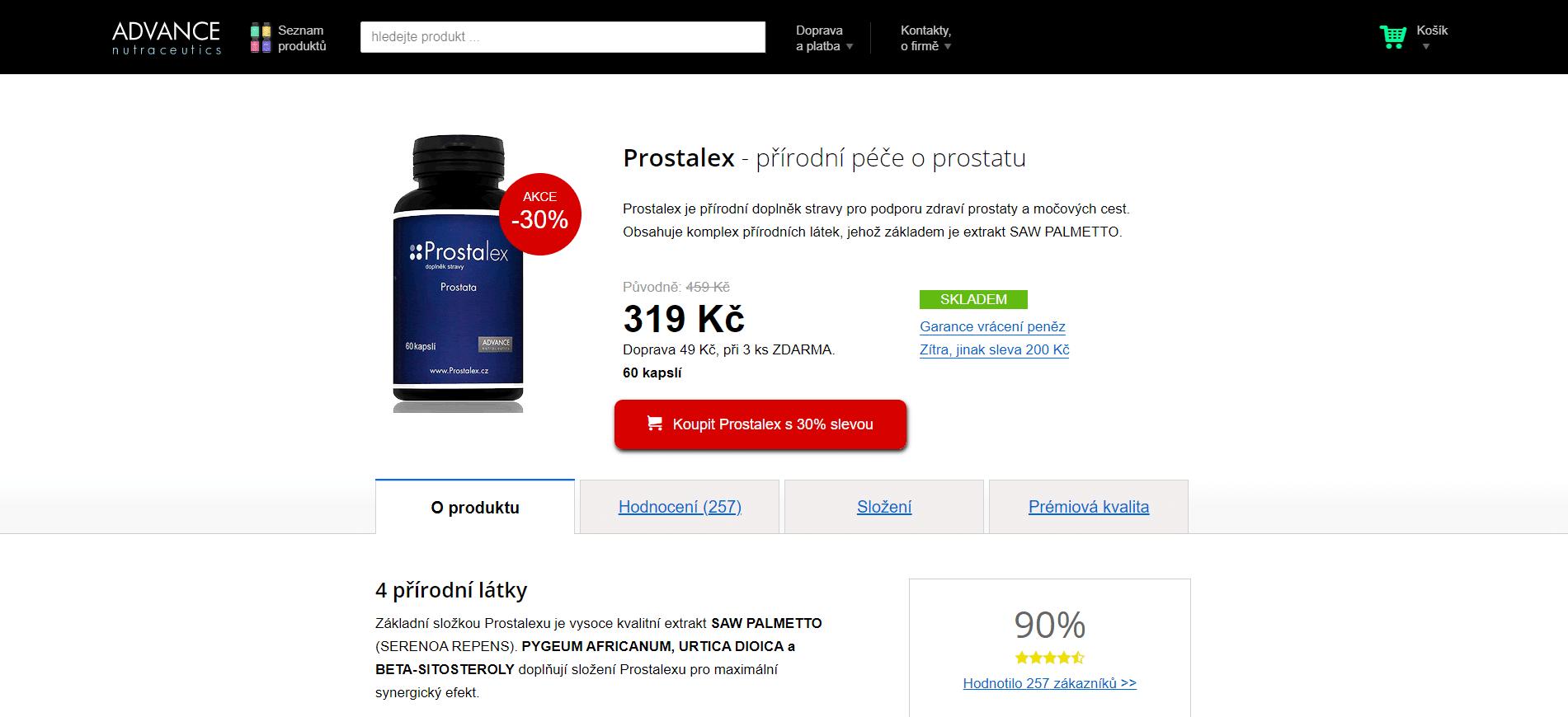 prostalex-recenze